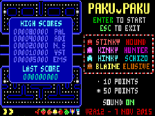 Paku Paku Live in Browser