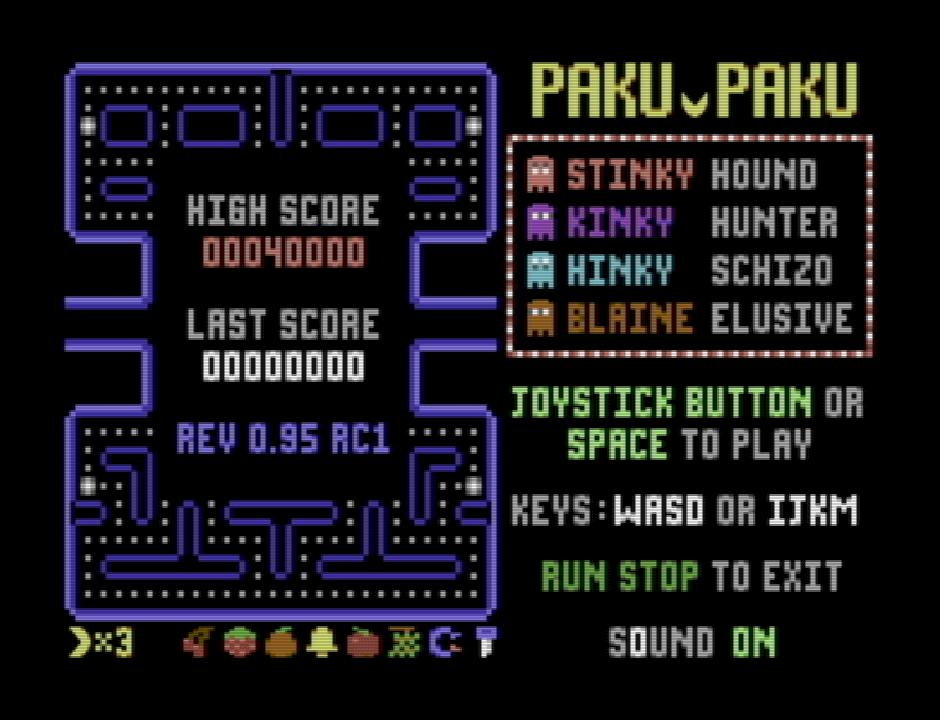 Paku Paku - Commodore 64 - DEATHSHADOW'S MADNESS